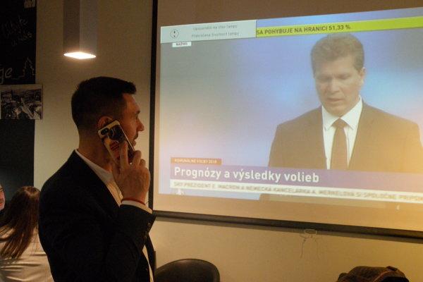 Richard Takáč akceptoval výsledky volieb v Prievidzi.