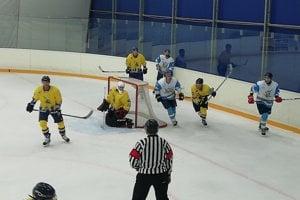 Hokej v Sabinove.