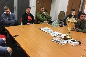 Zástupcovia firiem sa stretli dnes v redakcii MY Nitrianskych novín.