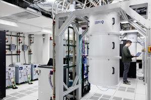 Kvantové počítače IBM.