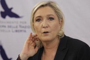 Pravicová politička Marine Le Penová.