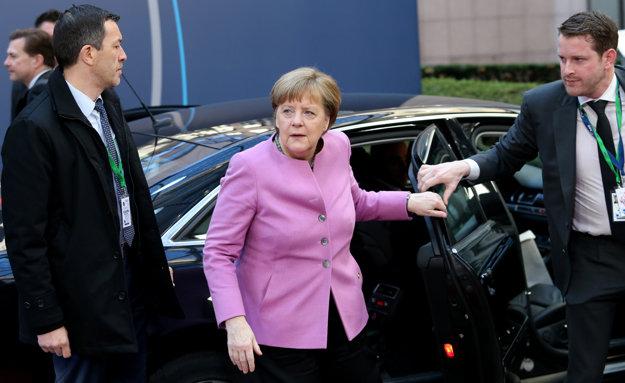 Angela Merkelová vracia.