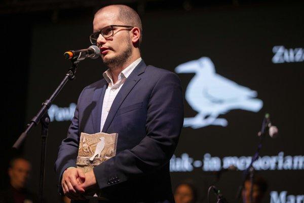 Redaktor denníka SME Adam Valček.