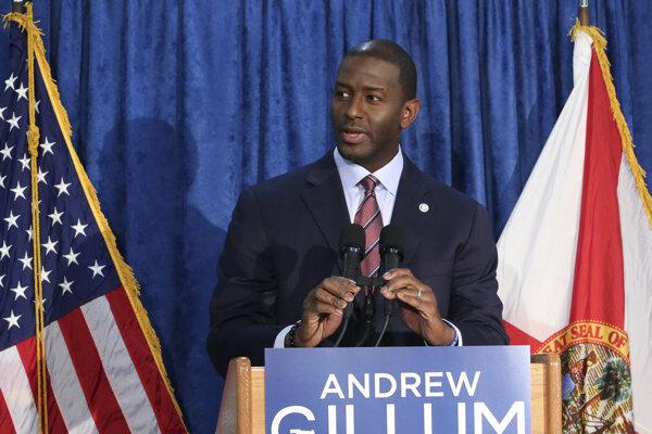 Demokrat Gillum priznal porážku vo voľbách guvernéra Floridy