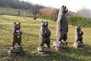 Medvedia rodinka.