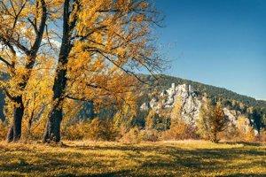 Odchádzajúca jeseň poskytla možnosť na zachytenie nádherných záberov.