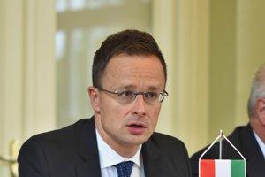 Minister zahraničných vecí a obchodu Maďarskej republiky Péter Szijjártó.