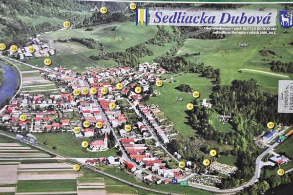 Najkrajšia obec Slovenska.