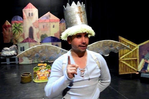 SĽUK a jeho tanečná komédia o stvorení sveta.