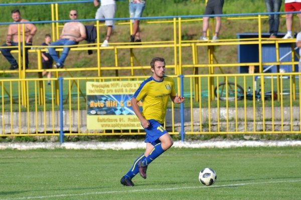 Jaroslav Figúr ešte v drese MFK Rožňava. FOTO: PP