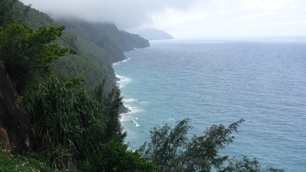 Upršané Nā Pali Coast