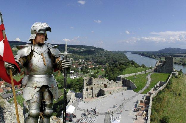 Zrúcanina Devínskeho hradu.