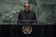 Nigérijský prezident Muhammad Buhari.