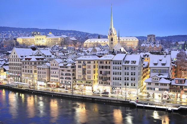 Švajčiarsky Zürich dosiahol v rebríčku Quality of living 2. miesto.