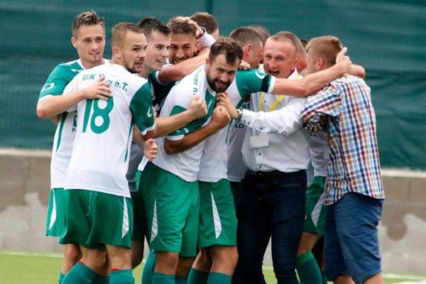 Vranovskí futbalisti mali počas jesene často dôvod na radosť.