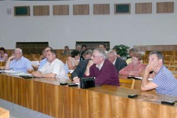 Pracovného stretnutia, kde sa riešila problematika volebných obvodov, sa zúčastnili okrem poslancov aj niektorí predsedovia výborov mestských častí.