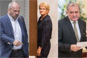 Igor Choma, Jana Laššáková a Dušan Muňko.