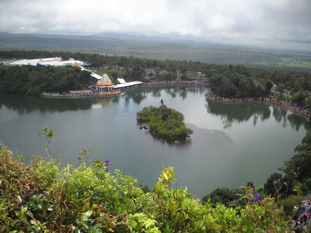 Jaziero Grand Bassin (Ganga Talao), Maurícius.