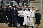 Pohreb amerického exprezidenta Georgea H. W. Busha.
