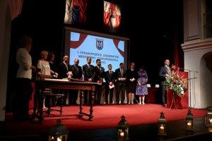 Primátor a nový poslanecký zbor v Levoči