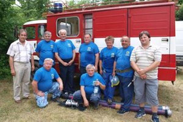 Jedným z účastníkov súťaže v Starej Bystrici bývajú hasiči z Veterán klubu Stupné.