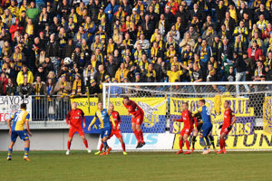Na štadión do Nitry opäť dorazili stovky fanúšikov DAC-u.