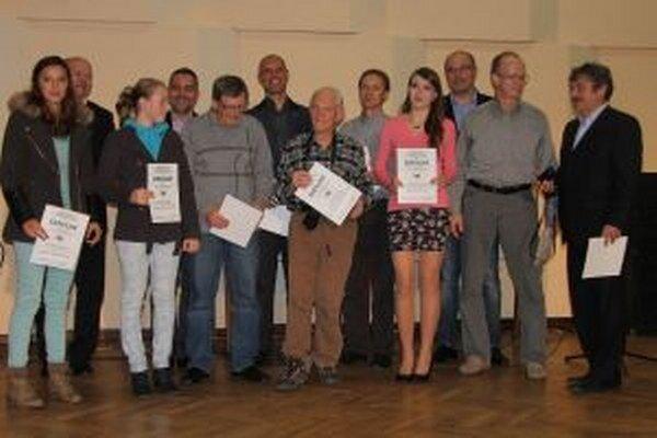 Ocenení autori.