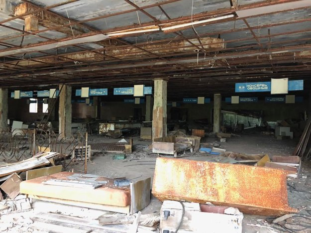 Bývalý supermarket