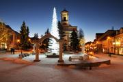 Vianočný stromček v Poprade