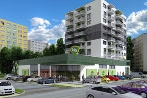 Obyvatelia okolitých bytoviek s výstavbou objektu nesúhlasia.