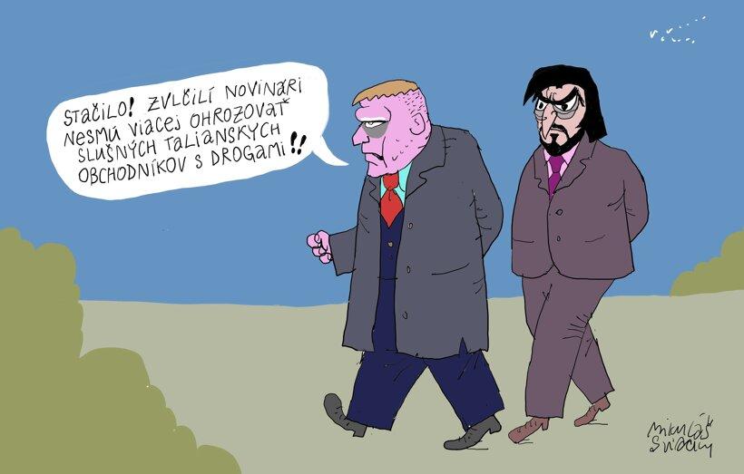 Zvlčilí novinári (Sliacky) 11. december