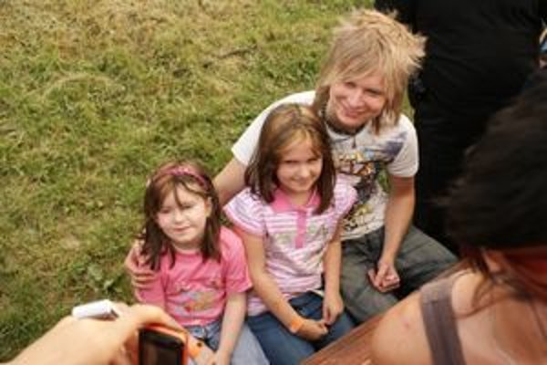 Šmajda má svojich fanúšikov aj medzi deťmi.