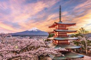Ikonická hora Fudží