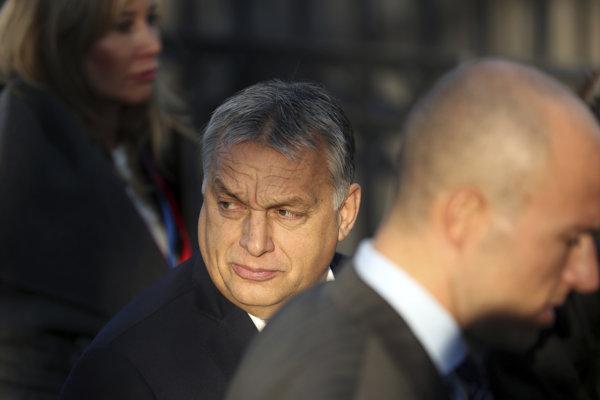 Šéf vládnej strany Fidesz a maďarský premiér Viktor Orbán.