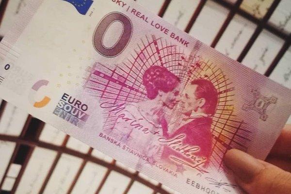 Svoju 0-erovú bankovku má už aj Dom Maríny s jeho Bankou lásky.