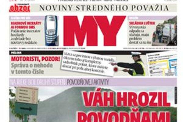 Nové číslo novín.