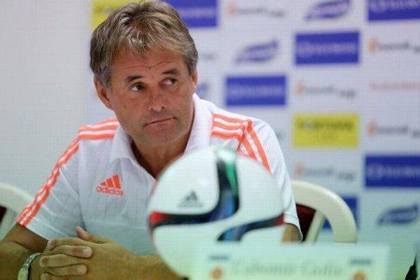 Už bývalý tréner Ivan Galád.