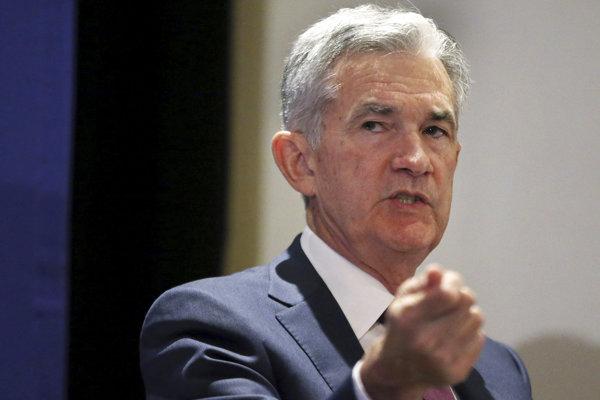 Predseda Federálneho rezervného systému (Fed) Jerome Powell.