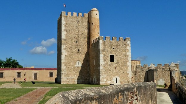 Fortaleza Ozama, najstaršia pevnosť.