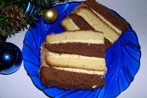 Vianočná torta.