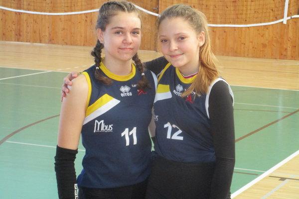 Zľava Nina Piaterová a Ema Boľfová.