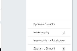 K deaktivácii i zmazaniu účtu na facebooku sa dostanete cez Nastavenia, ktoré nájdete na hornej lište.