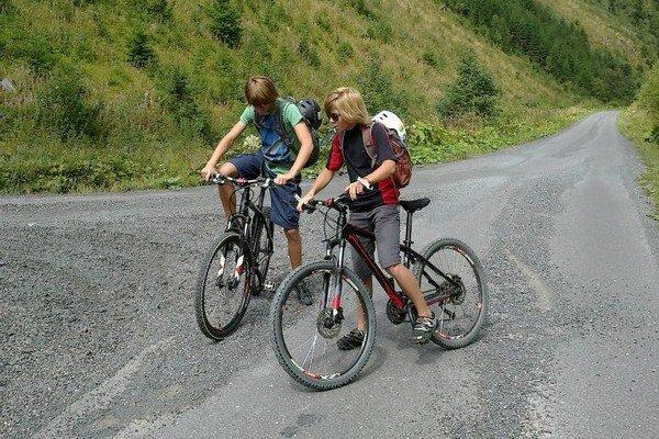 Liptovom prechádzajú dve župné cyklistické magistrály. Červenoznačená Oravská a Vrchárska.