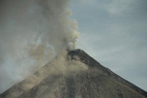 Sopka Mayon.