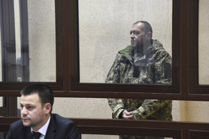 Jeden zo zadržiavaných ukrajinských námorníkov.