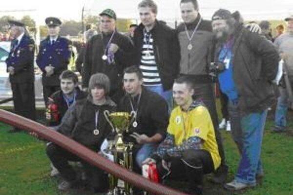 Mladí hasiči z Bobrovčeka sa dopracovali k úspechom vďaka cieľavedomej práci.