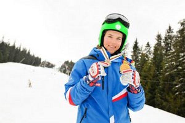 Talentovaná Liptáčka absolvovala premiéru uplynulý pondelok, keď vo švédskom Vemdalene skončila na výbornom druhom mieste v slalome Európskeho pohára.