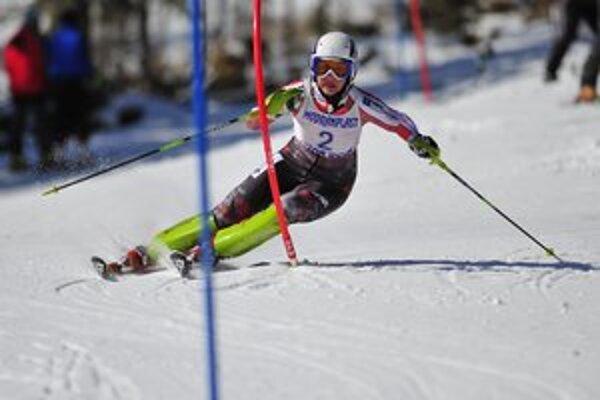Mikulášska rodáčka Lukáčová začala svoju prípravu pred rokom s tréningovou partnerkou Petrou Vlhovou.