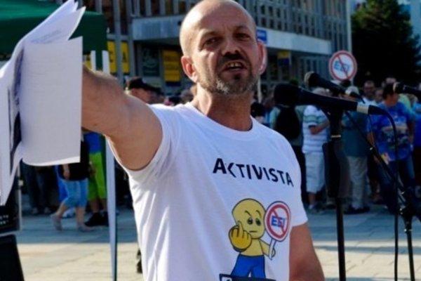 Zviditeľnil sa ako aktivista, dnes je košickým poslancom. Henrich Burdiga.