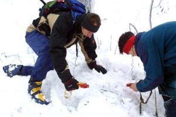 Lavínový trenažér bude pri Žiarskej chate k dispozícii dovtedy, kým nezmizne sneh.